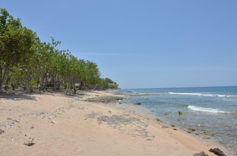 Der Strand von Pemuteran